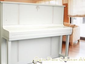 KAWAI卡瓦依钢琴K20室内裝飾鋼琴河合KAWAI鋼琴白色的鋼琴