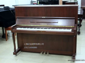 雅马哈钢琴 YAMAHA-W110BS原木色高端系列二手钢琴