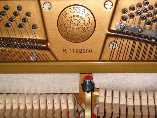 日本原装卡哇伊钢琴/卡瓦依钢琴/KAWAI钢琴生产年代 查询表