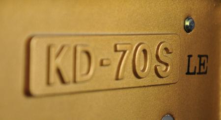 日本原装进口KAWAI KD-70S卡瓦依KD70S限量版高端演奏级钢琴