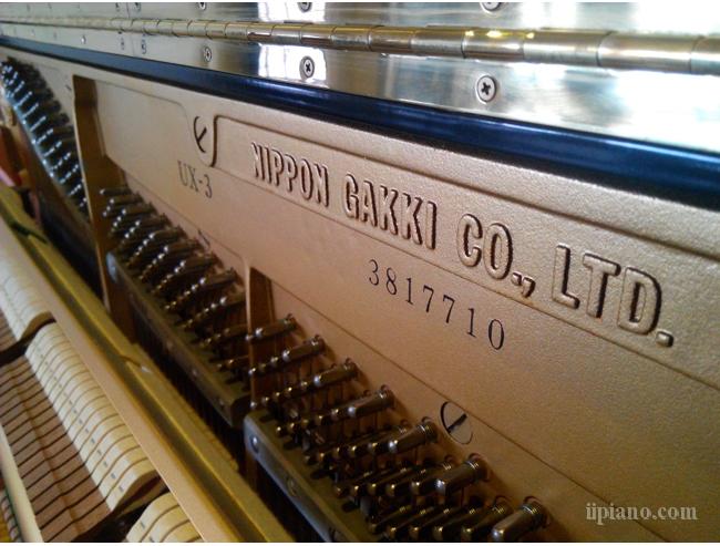 雅马哈二手钢琴原装进口YAMAHA UX-3 顶级演奏级钢琴