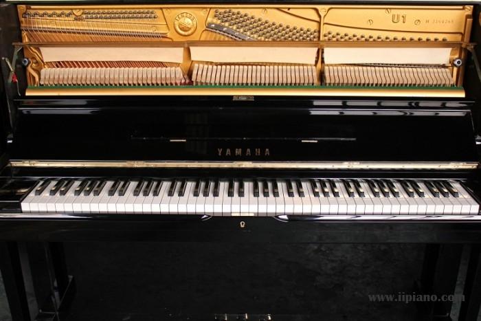 日本原装进口雅马哈钢琴畅销型号U1H 厂家直销 三年质保 秒杀珠江