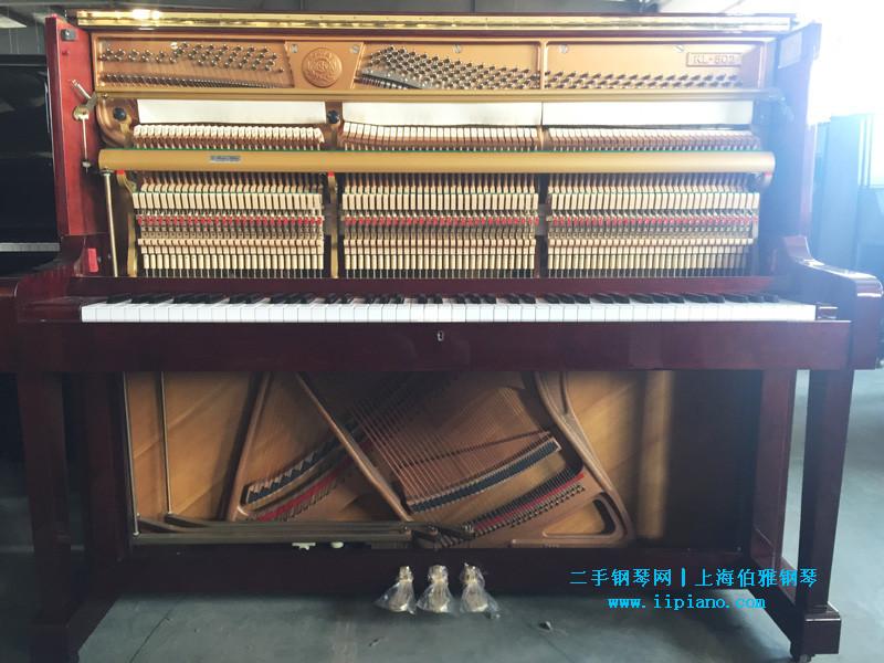 KAWAI 二手钢琴 彩色系列琴 之 卡瓦依 KL-502 红木琴槌